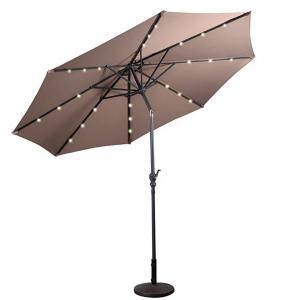 Costway – Ombrellone da giardino con LED